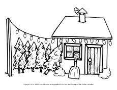 ausmalbild in der grundschule hus klasse 1. Black Bedroom Furniture Sets. Home Design Ideas