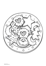 Ausmalbilder Weihnachten Feste Und Feiertage Hus