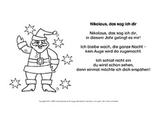 nikolausgedichte gedichte weihnachten feste und. Black Bedroom Furniture Sets. Home Design Ideas