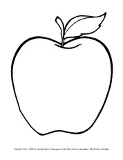 Ausmalbilder In Der Grundschule Der Apfel Hus Klasse 2
