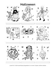 Arbeitsblätter-Halloween - Halloween - Feste und Feiertage - HuS ...
