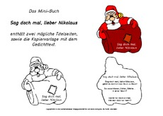lapbook nikolaus in der grundschule. Black Bedroom Furniture Sets. Home Design Ideas