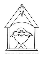 ausschneidemotive weihnachten weihnachten feste und feiertage hus klasse 2. Black Bedroom Furniture Sets. Home Design Ideas