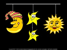 Pics Photos - Mobile Sonne Mond Und Sterne