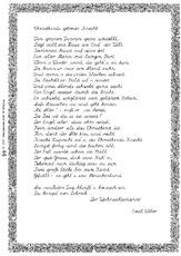 Weihnachten In Der Grundschule Weihnachts Gedichte