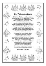 weihnachts gedichte gedichte im schmuckrahmen. Black Bedroom Furniture Sets. Home Design Ideas