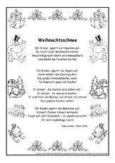 Weihnachtsgedichte Für Kinder Grundschule.Weihnachtsgedicht In Der Grundschule Weihnachten Feste Und