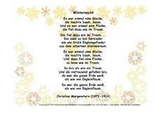 wintergedicht in der grundschule. Black Bedroom Furniture Sets. Home Design Ideas