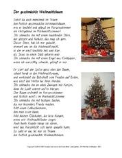 weihnachtsgedicht in der grundschule feste und feiertage. Black Bedroom Furniture Sets. Home Design Ideas