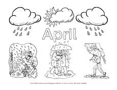 malvorlagen jahreszeiten pdf - zeichnen und färben
