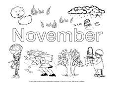 Monate Fur Projekte In Der Grundschule Jahreszeiten Hus Klasse