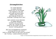 Arbeitsblatt In Der Grundschule Gedichte Das