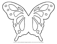 Schmetterling in der grundschule fensterbilder fr hling jahreszeiten hus klasse 2 - Fensterbilder transparentpapier ...