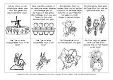 arbeitsblatt in der grundschule tulpe lesen und malen zusatzmaterial deutsch fr hlings. Black Bedroom Furniture Sets. Home Design Ideas