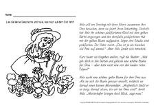 jahreszeiten - hus klasse 2 - grundschulmaterial.de