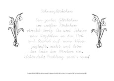 schneeglöckchen-gedicht-ausmalbild - frühlingsgedichte - frühling - jahreszeiten - hus klasse 2