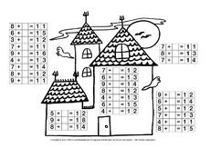 arbeitsblatt in der grundschule herbst jahreszeiten hus klasse 2. Black Bedroom Furniture Sets. Home Design Ideas