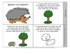 Igel In Der Grundschule Herbst Jahreszeiten Hus Klasse
