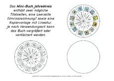 lapbook-jahreskreis in der grundschule - minibücher-jahreskreis - lapbook - jahreszeiten