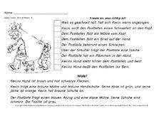 sinnerfassendes Lesen (Arbeitsblatt) in der Grundschule - Winter ...