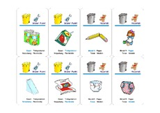 Spiel in der Grundschule - Umwelt - Mülltrennung - Themen und ...