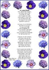 Muttertagsgedichte als grafik gedichte zum muttertag muttertag feste feiertage hus - Muttertag grundschule ...