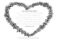 Muttertagsgedicht In Der Grundschule Muttertagsgedichte