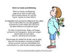 Muttertagsgedichte Gedichte Zum Muttertag Muttertag