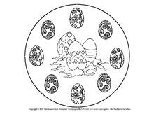 Ausmalbild in der Grundschule  Ostern  Feste  Feiertage  HuS