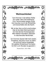 Weihnachten (Arbeitsblatt) in der Grundschule - HuS Klasse 3 ...