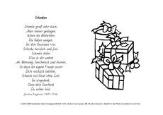 Weihnachtsgedicht ringelnatz kurz