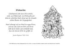 Ringelnatz gedichte weihnachtsbaum