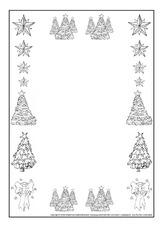 Weihnachts Rahmen Sw Schmuckrahmen Weihnachten Feste