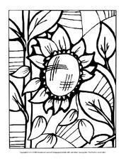Ausmalbild Mosaik In Der Grundschule Ausmalbilder Mosaik Blumen Fruhling Jahreszeiten Hus Klasse 3 Grundschulmaterial De