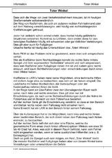 Toter Winkel (Arbeitsblatt) in der Grundschule - Sicherheit durch ...