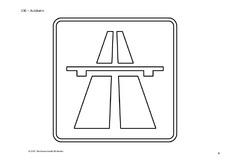ausmalbilder verkehrszeichen pdf