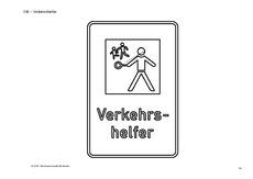 Ausmalbild In Der Grundschule Verkehrszeichen Verkehrserziehung
