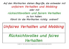 Werteerziehung (Arbeitsblatt) in der Grundschule - HuS Klasse 3 ...