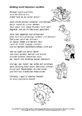 Werteerziehung (Arbeitsblatt) für Projekte in der Grundschule ...