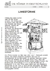 limes arbeitsblatt f r einzelarbeit in der grundschule hus unterrichtsmaterial. Black Bedroom Furniture Sets. Home Design Ideas
