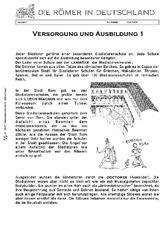 gladiatoren in der grundschule r mer in deutschland themen und projekte hus klasse 3. Black Bedroom Furniture Sets. Home Design Ideas