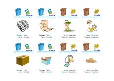bersicht m ll arbeitsbl tter umwelt m lltrennung themen und projekte hus klasse 3. Black Bedroom Furniture Sets. Home Design Ideas
