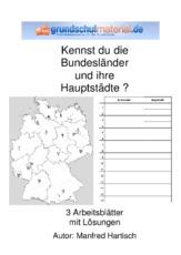 Bundesrepublik Deutschland Erdkunde Sachthemen Hus Klasse 4