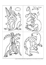 Dinosaurier in der Grundschule - Material - Unterrichtsmaterial ...