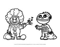 Ausmalbilder Halloween In Der Grundschule Bildende Kunst