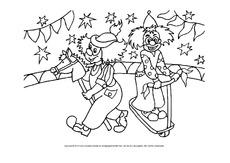 Arbeitsblatt In Der Grundschule Im Zirkus Ausmalbilder