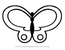 Schmetterling in der Grundschule - Tiere zum Ausmalen ...