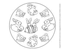 Oster Mandala In Der Grundschule Grundschulmaterial De