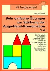 Arbeitsblatt In Der Grundschule Auge Hand Koordination