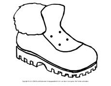 bastelvorlage in der grundschule schuhe stiefel eine schleife binden f rderung. Black Bedroom Furniture Sets. Home Design Ideas